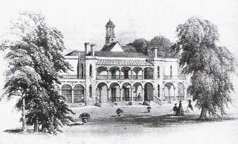 Hotham House Drawing