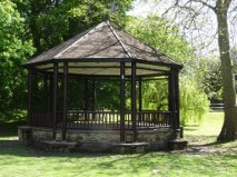 Bandstand in Hotham Park