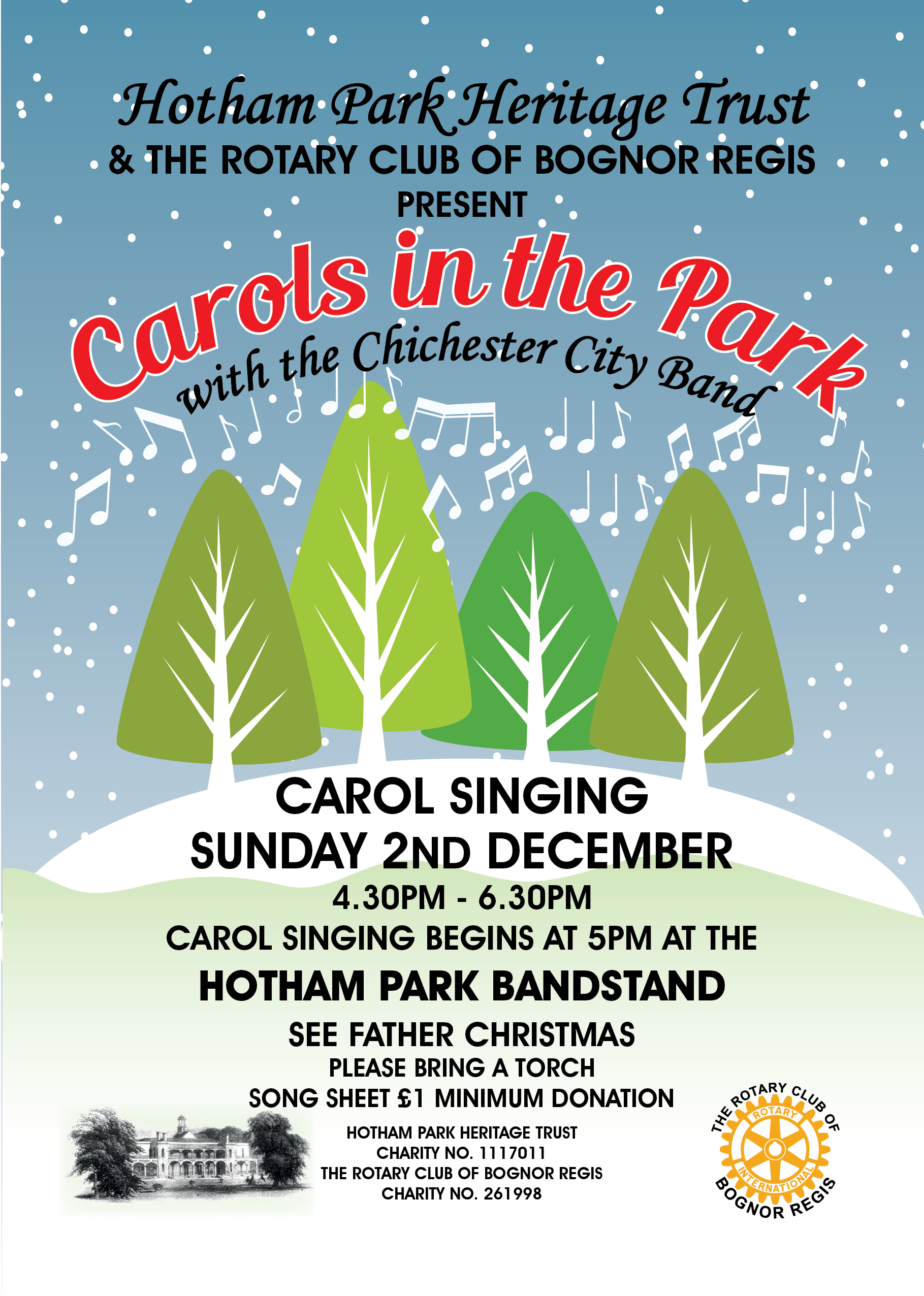 'Carols in the Park